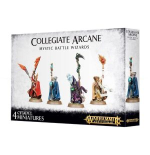 Games Workshop (Direct) Age of Sigmar  Age of Sigmar Direct Orders Freeguild Collegiate Arcana Mystic Battle Wizards - 99120202036 - 5011921089970