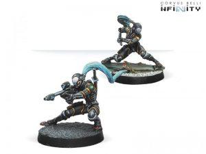 Corvus Belli Infinity  Yu Jing Yu Jing Ninjas (Multi Sniper/Hacker) - 280395-0660 - 2803950006607