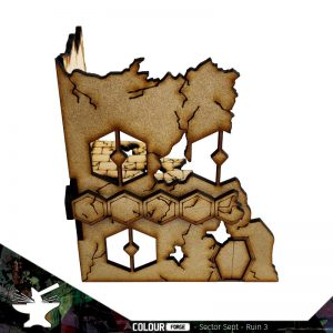 The Colour Forge   The Colour Forge Terrain Sector Sept Ruins #3 - TCF-SSR-003 - 5060843101512