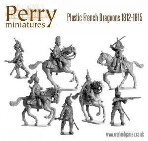 Perry Miniatures   Perry Miniatures French Napoleonic Dragoons 1812-1815 - FN130 - FN130