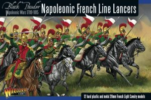 Warlord Games Black Powder  French (Napoleonic) Napoleonic French Line Lancers - 302012003 - 5060393702559