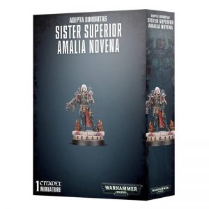 Games Workshop (Direct) Warhammer 40,000  Adepta Sororitas Sister Superior Amalia Novena - 99120108020 - 5011921113309