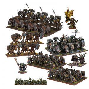 Mantic Kings of War  Orcs Orc Mega Army - MGKWO111 - 5060469661483