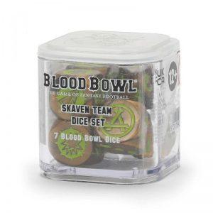 Games Workshop Blood Bowl  Blood Bowl Blood Bowl: Skaven Team Dice Set - 99220906003 - 5011921155057
