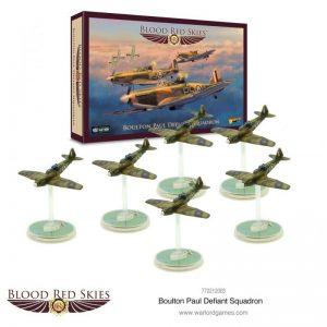 Warlord Games Blood Red Skies  Blood Red Skies Blood Red Skies: Boulton Paul Defiant Squadron - 772212003 - 5060572502550