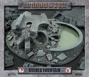 Gale Force Nine   Battlefield in a Box Battlefield in a Box: Ruined Fountain - BB553 - 9420020222236