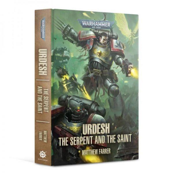Games Workshop (Direct)   Warhammer 40000 Books Urdesh: The Serpent and the Saint (Hardback) - 60040181784 - 9781800260290