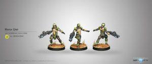 Corvus Belli Infinity  Haqqislam Hafza Unit (Spitfire) - 280454-0344 - 2804540003440