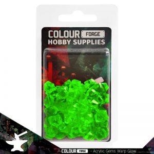 The Colour Forge   Acrylic Gems Acrylic Gems: Warp Glow - TCF-AG-0300 - 5060843100300