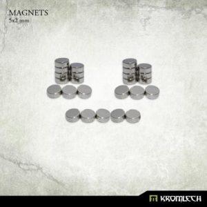 Kromlech   Magnets Neodymium Disc Magnets 5x2mm (25) - KRMA041 - 5902216114975