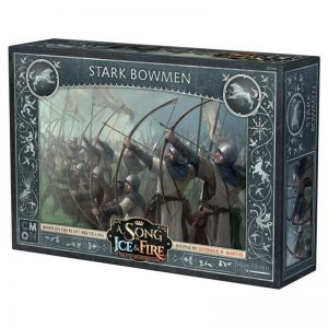 Cool Mini or Not A Song of Ice and Fire  House Stark A Song of Ice and Fire: Stark Bowmen - CMNSIF106 - 889696005618