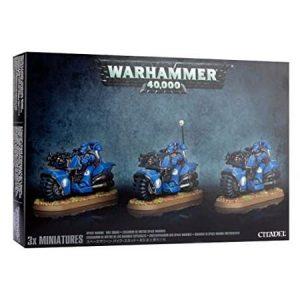 Games Workshop (Direct) Warhammer 40,000  Space Marines Space Marine Bike Squad - 99120101215 - 5011921091607