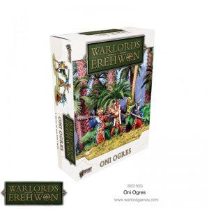 Warlord Games (Direct) Warlord of Erehwon  Warlords of Erehwon Warlords of Erehwon: Oni Ogres - 692215003 - 5060572504745