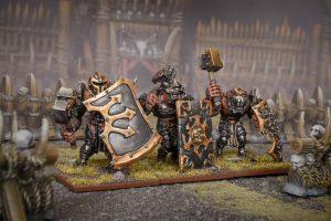 Mantic Kings of War  Ogres Ogre Siege Breakers Regiment - MGKWH302 - 5060469665832