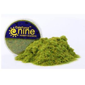 Gale Force Nine   Sand & Flock Hobby Round: Green Static Grass - GFS001 - 8780540002666