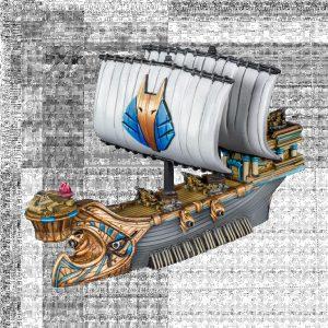 Mantic Kings of War Armada  Empire of Dust EoD War Galley - MGART204 - 5060469667607