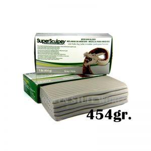 Green Stuff World   Modelling Putty & Green Stuff Super Sculpey Medium Blend 454 gr. - 8436554362752ES - 8436554362752