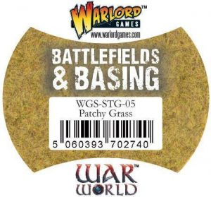 Warlord Games   Sand & Flock Warlord Scenics: Patchy Grass - WGS-STG-05 - 5060393702740