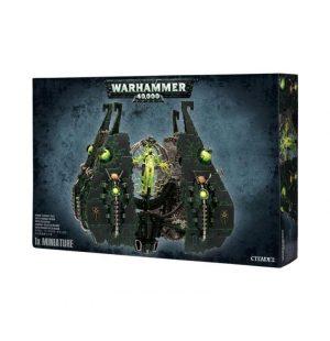 Games Workshop (Direct) Warhammer 40,000  40k Direct Orders Necron Obelisk / Tesseract Vault - 99120110026 - 5011921047437