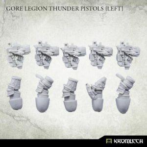 Kromlech   Misc / Weapons Conversion Parts Gore Legion Thunder Pistols Set1 [left] (5) - KRCB242 - 5902216119994