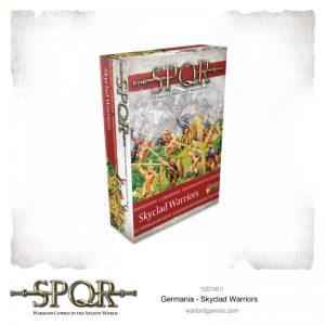 Warlord Games SPQR  SPQR SPQR: Germania Skyclad Warriors - 152214011 - 5060572505292