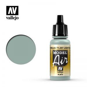 Vallejo   Model Air Model Air: Light Blue RLM76 - VAL71257 - 8429551712576