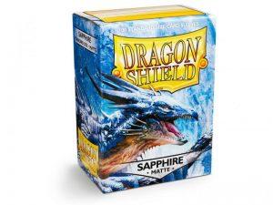 Dragon Shield   Dragon Shield Dragon Shield Sleeves Matte Sapphire (100) - DS100MSA - 5706569110284