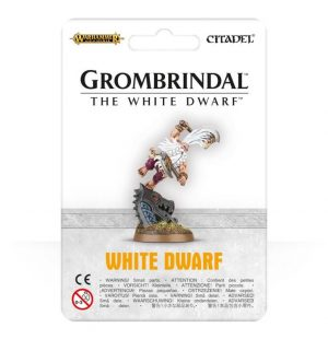 Games Workshop (Direct) Age of Sigmar  Age of Sigmar Direct Orders Grombrindal, The White Dwarf - 99070205008 - 5011921079896
