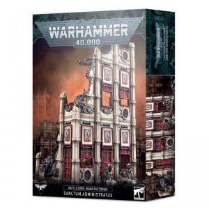 Games Workshop   40k Terrain Battlezone: Manufactorum – Sanctum Administratus - 99120199076 - 5011921144136