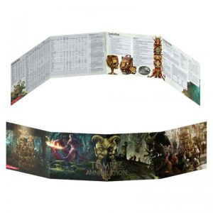 Gale Force Nine Dungeons & Dragons  D&D Extras D&D: Tomb Of Annhilation Dungeon Master Screen - GFN73708 - 9781945625930