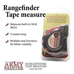 The Army Painter   Tapes & Measuring Sticks Rangefinder Tape Measure - APTL5047 - 5713799504707