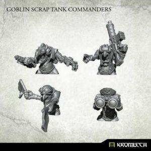 Kromlech   Orc Conversion Parts Goblin Scrap Tank Commanders (4) - KRM139 - 5902216116894