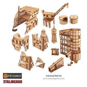 Warlord Games   World War Scenics Stalingrad Industrial Set - TT_Stalin02 -