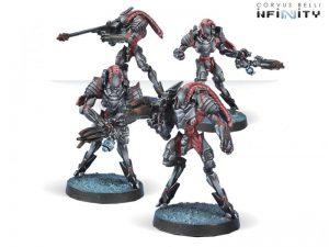 Corvus Belli Infinity  Combined Army Unidron Batroids - 280667-0516 - 2806670005165