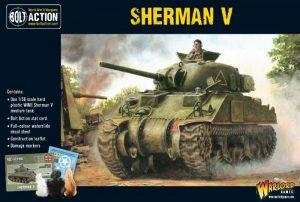 Warlord Games Bolt Action  Great Britain (BA) Sherman V Medium Tank - 402011004 - 5060393700586