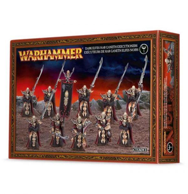 Games Workshop (Direct) Age of Sigmar  Age of Sigmar Direct Orders Dark Elf Executioners / Black Guard - 99120212011 - 5011921048649