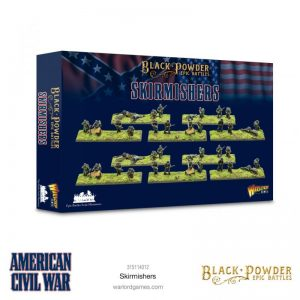 Warlord Games Black Powder Epic Battles  Black Powder Epic Battles Epic Battles: American Civil War Skirmishers - 315114012 - 5060572509665