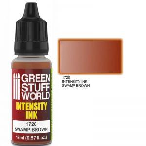 Green Stuff World   Intensity Inks Intensity Ink SWAMP BROWN - 8436574500790ES - 8436574500790