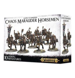 Games Workshop (Direct) Age of Sigmar  Slaves to Darkness Chaos Marauder Horsemen - 99120201048 - 5011921066827