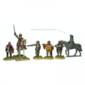 Perry Miniatures   Perry Miniatures Henry V, Mounted, and Command - AO1 -