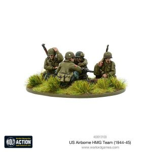 Warlord Games Bolt Action  United States of America (BA) US Airborne HMG Team (1944-45) - 403013103 - 5060393709169