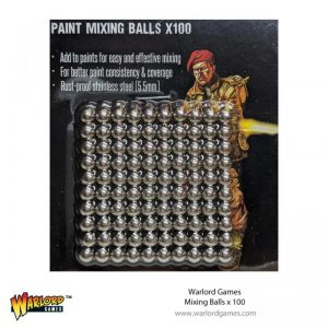 Warlord Games   Warlord Games Tools Warlord Mixing Balls (100) - 843419917 - 5060572507432