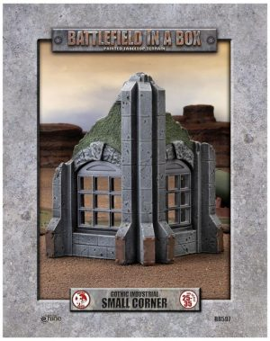 Gale Force Nine   Battlefield in a Box Gothic Industrial - Small Corner (x1) - 30mm - BB597 - 9420020247895