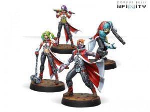 Corvus Belli Infinity  Nomads Die Morlock Gruppe - 280591-0696 - 2805910006962