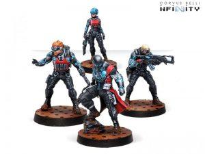 Corvus Belli Infinity  Nomads Securitate Box Set - 280598-0747 - 2805980007470