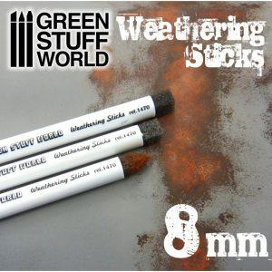 Green Stuff World   Weathering Brushes Weathering Brushes 8mm - 8436554368105ES - 8436554368105