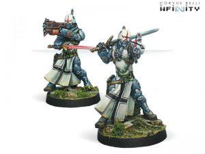 Corvus Belli Infinity  PanOceania Teutonic Knights (Spitfire/Combi Rifle) - 280293-0663 - 2802930006637