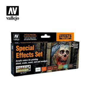 Vallejo   Paint Sets Vallejo Game Color Set - Special Effects Set (x8) - VAL72213 - 8429551722131