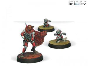 Corvus Belli Infinity  Nomads Moran Maasai Hunter (Shotgun, CrazyKoalas) - 280536-0216 - 2805360002163