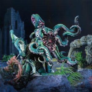 Mantic Kings of War  Trident Realm of Neritica Trident Realm Kraken - MGKWR405 - 5060469664859